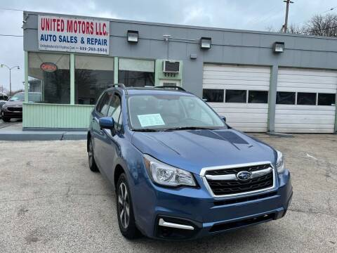 2017 Subaru Forester for sale at United Motors LLC in Saint Francis WI