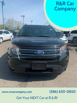 2015 Ford Explorer for sale at R&R Car Company in Mount Clemens MI