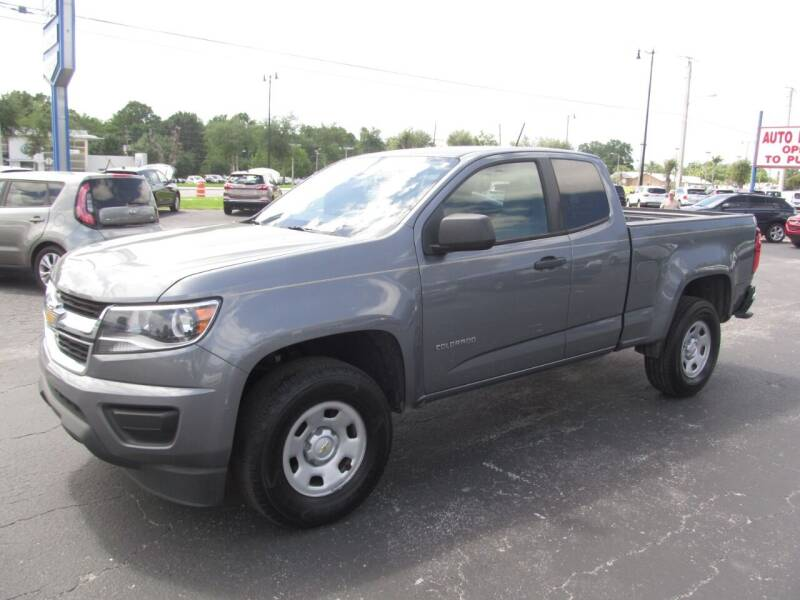2019 Chevrolet Colorado for sale at Blue Book Cars in Sanford FL