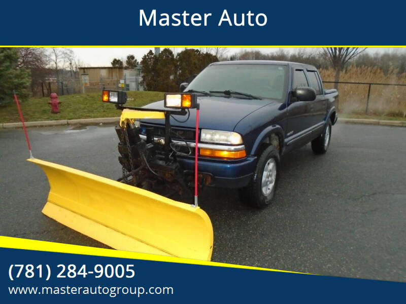 2004 Chevrolet S-10 for sale at Master Auto in Revere MA