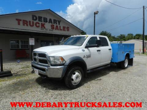 2013 Dodge RAM 4500 HD for sale at DEBARY TRUCK SALES in Sanford FL
