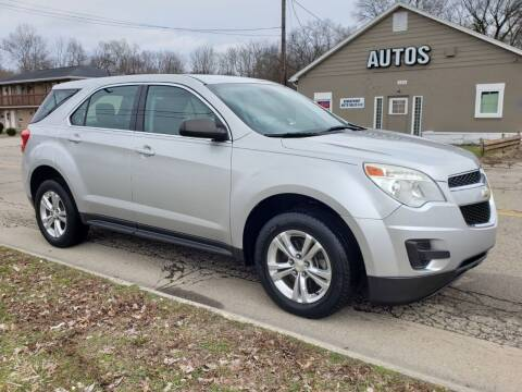 2013 Chevrolet Equinox for sale at Riverfront Auto Sales in Middletown OH