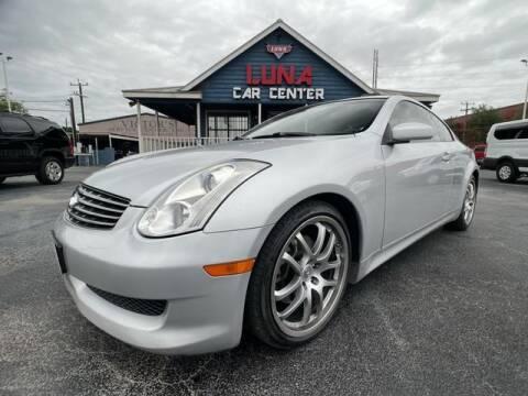 2006 Infiniti G35 for sale at LUNA CAR CENTER in San Antonio TX