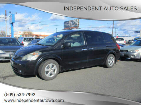2008 Nissan Quest for sale at Independent Auto Sales in Spokane Valley WA