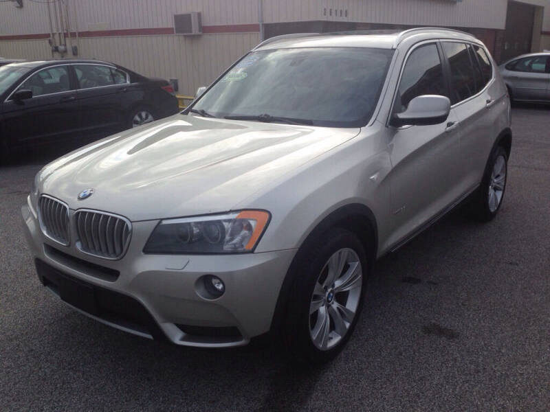2013 BMW X3 for sale at MR Auto Sales Inc. in Eastlake OH