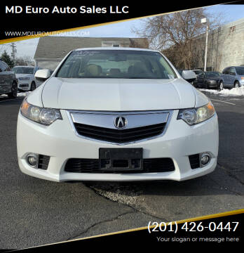 2012 Acura TSX for sale at MD Euro Auto Sales LLC in Hasbrouck Heights NJ