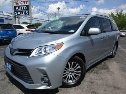 2020 Toyota Sienna for sale at TRI CITY AUTO SALES LLC in Menasha WI