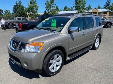 2008 Nissan Armada for sale at Vista Auto Sales in Lakewood WA