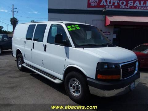 2015 GMC Savana Cargo for sale at About New Auto Sales in Lincoln CA