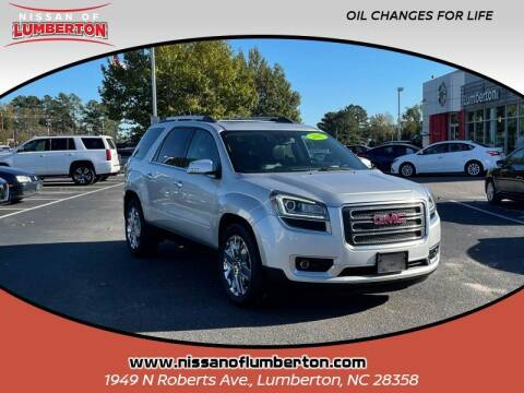 2017 GMC Acadia Limited for sale at Nissan of Lumberton in Lumberton NC
