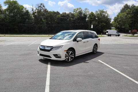 2018 Honda Odyssey for sale at Auto Guia in Chamblee GA