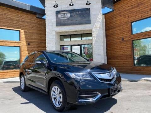 2017 Acura RDX for sale at Hamilton Motors in Lehi UT