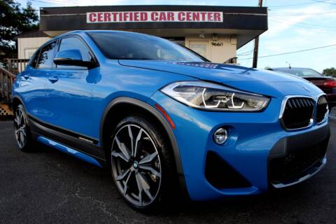 2018 BMW X2 for sale at CERTIFIED CAR CENTER in Fairfax VA