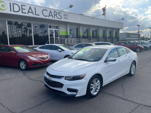 2017 Chevrolet Malibu for sale at Ideal Cars Atlas in Mesa AZ