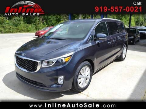 2016 Kia Sedona for sale at Inline Auto Sales in Fuquay Varina NC