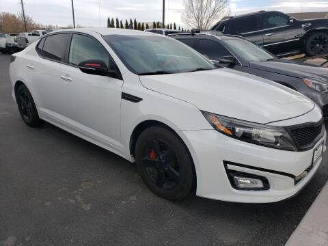 2015 Kia Optima for sale at Auto Image Auto Sales Chubbuck in Chubbuck ID