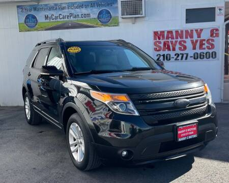 2011 Ford Explorer for sale at Manny G Motors in San Antonio TX