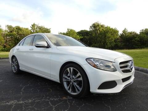 2016 Mercedes-Benz C-Class for sale at SUPER DEAL MOTORS 441 in Hollywood FL