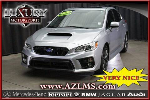 2019 Subaru WRX for sale at Luxury Motorsports in Phoenix AZ