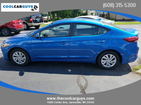 2017 Hyundai Elantra for sale at Cool Car Guys in Janesville WI