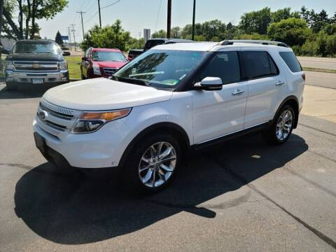 2013 Ford Explorer for sale at Premier Motors LLC in Crystal MN