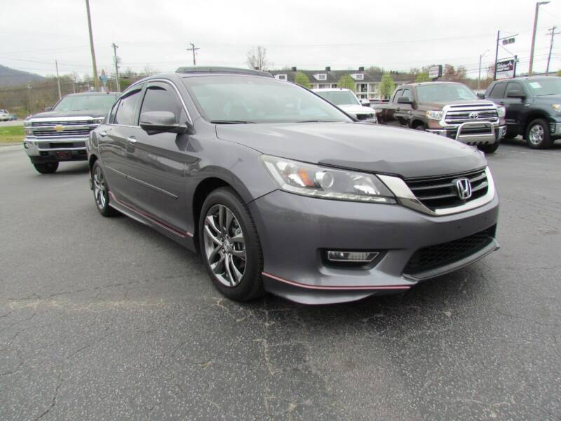 2013 Honda Accord for sale at Hibriten Auto Mart in Lenoir NC