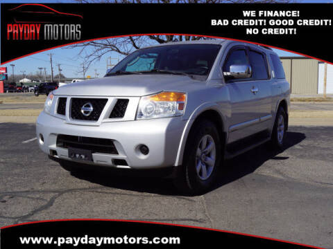 2011 Nissan Armada for sale at Payday Motors in Wichita And Topeka KS