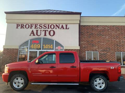 2011 Chevrolet Silverado 1500 for sale at Professional Auto Sales & Service in Fort Wayne IN
