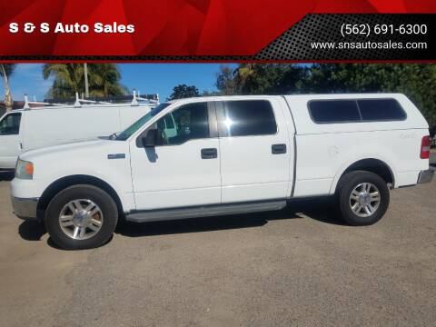 2007 Ford F-150 for sale at S & S Auto Sales in La  Habra CA