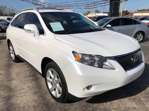 2011 Lexus RX 350 for sale at Pasadena Auto Planet in Houston TX