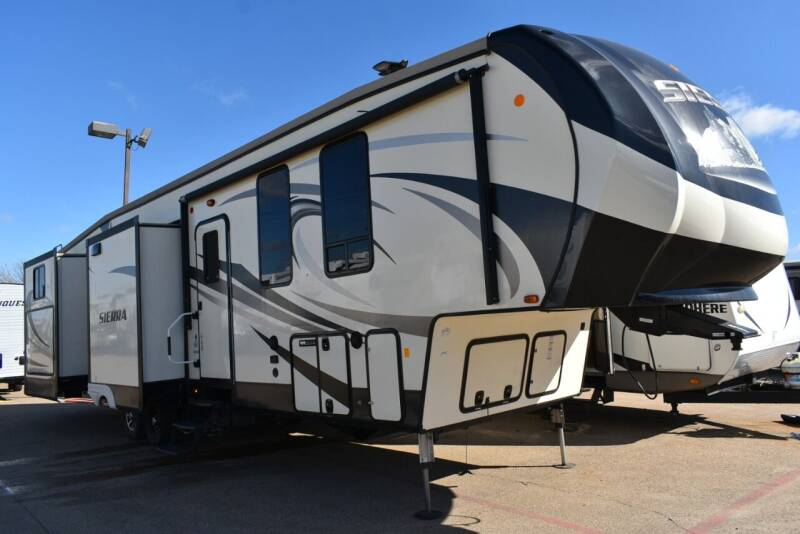 2017 Forest River Sierra 381RBOK for sale at Buy Here Pay Here RV in Burleson TX
