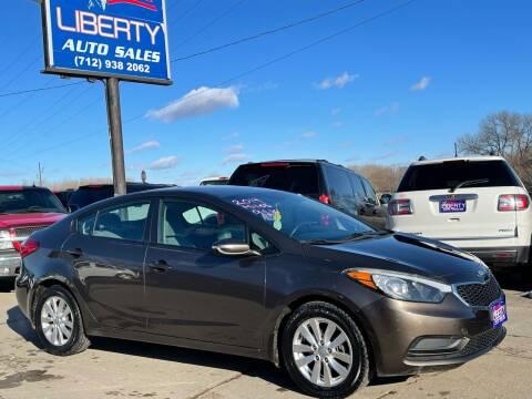 2014 Kia Forte for sale at Liberty Auto Sales in Merrill IA