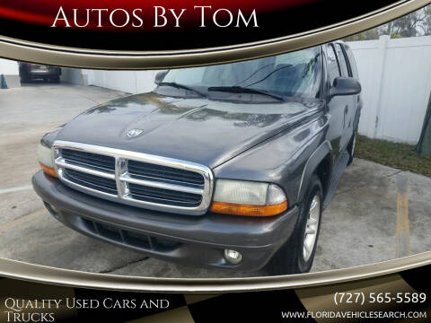 2003 Dodge Durango for sale at Autos by Tom in Largo FL