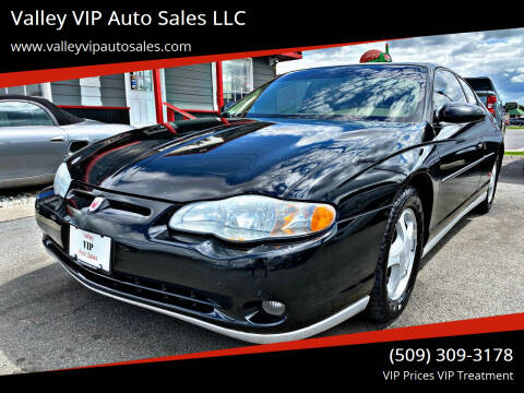 2004 Chevrolet Monte Carlo for sale at Valley VIP Auto Sales LLC in Spokane Valley WA