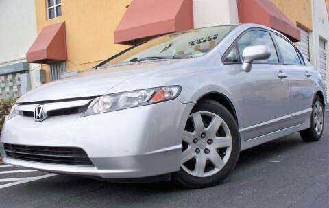 2008 Honda Civic for sale at POLLO AUTO SOLUTIONS in Miami FL