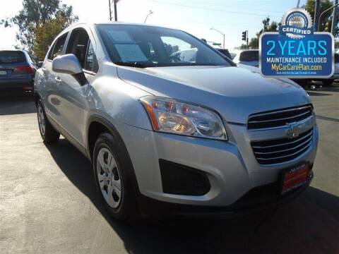 2015 Chevrolet Trax for sale at Centre City Motors in Escondido CA