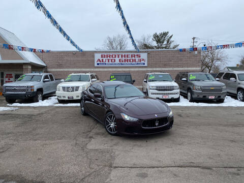 2014 Maserati Ghibli for sale at Brothers Auto Group in Youngstown OH