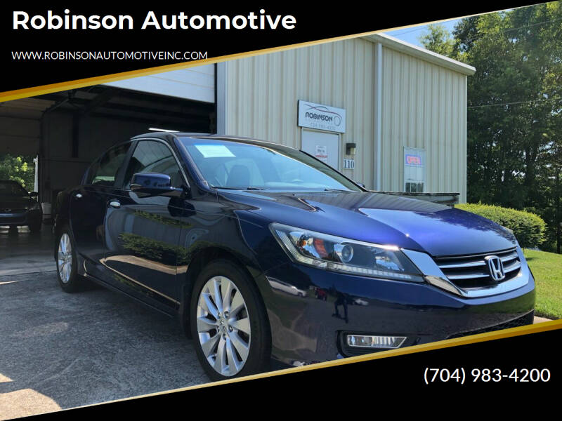 2013 Honda Accord for sale at Robinson Automotive in Albemarle NC
