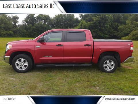 2014 Toyota Tundra for sale at East Coast Auto Sales llc in Virginia Beach VA
