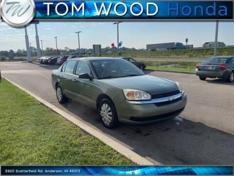 2005 Chevrolet Malibu for sale at Tom Wood Honda in Anderson IN