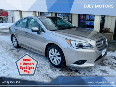 2015 Subaru Legacy for sale at Luly Motors in Lincoln NE