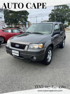 2005 Ford Escape for sale at Auto Cape in Hyannis MA