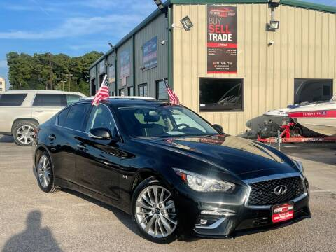 2020 Infiniti Q50 for sale at Premium Auto Group in Humble TX