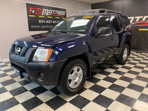 2006 Nissan Xterra for sale at T & S Motors in Ardmore TN