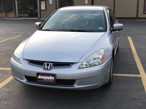 2003 Honda Accord for sale at Anamaks Motors LLC in Hudson NH