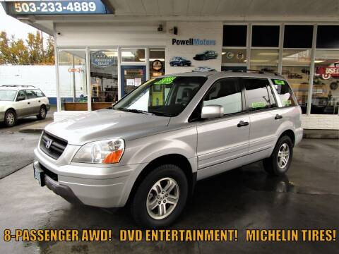 2004 Honda Pilot for sale at Powell Motors Inc in Portland OR