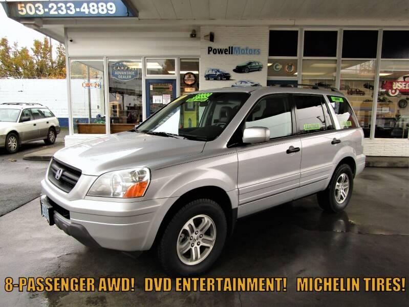 2004 Honda Pilot for sale at Powell Motors Inc in Portland OR