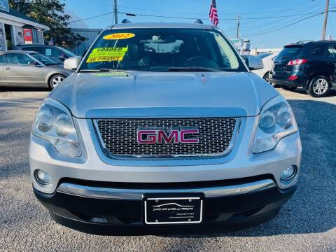 2012 GMC Acadia for sale at Cape Cod Cars & Trucks in Hyannis MA