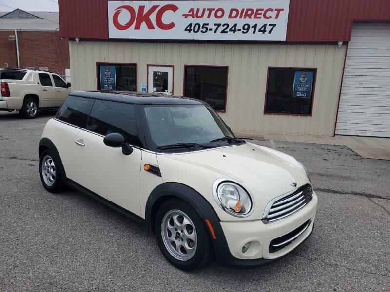 2012 MINI Cooper Hardtop for sale at OKC Auto Direct, LLC in Oklahoma City OK