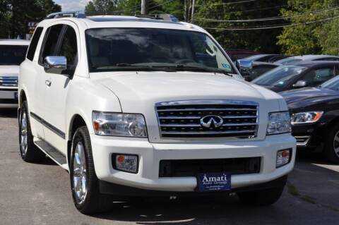 2010 Infiniti QX56 for sale at Amati Auto Group in Hooksett NH